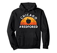 Tea Red For Ed Chicago Public Education T-shirt Hoodie Black