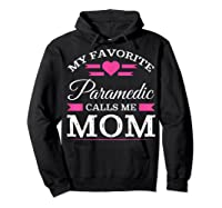 Paramedic Mom Mothers Day Gift For Shirts Hoodie Black