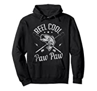Paw Paw Reel Cool Fishing Gift Shirts Hoodie Black