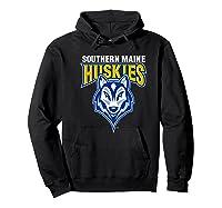 University Of Southern Maine Huskies Ppusmn02 Shirts Hoodie Black