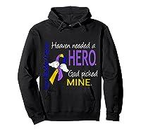 Bladder Cancer Heaven Needed A Hero God Picked Mine Shirts Hoodie Black