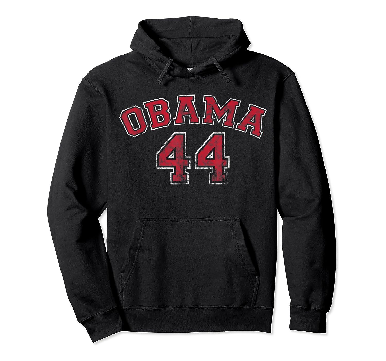 Obama 44 Basketball Shirt Distressed Vintage Tee T-shirt Unisex Pullover Hoodie