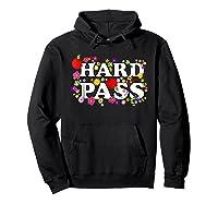 Hard Pass Floral Baseball Feminist Shirts Hoodie Black