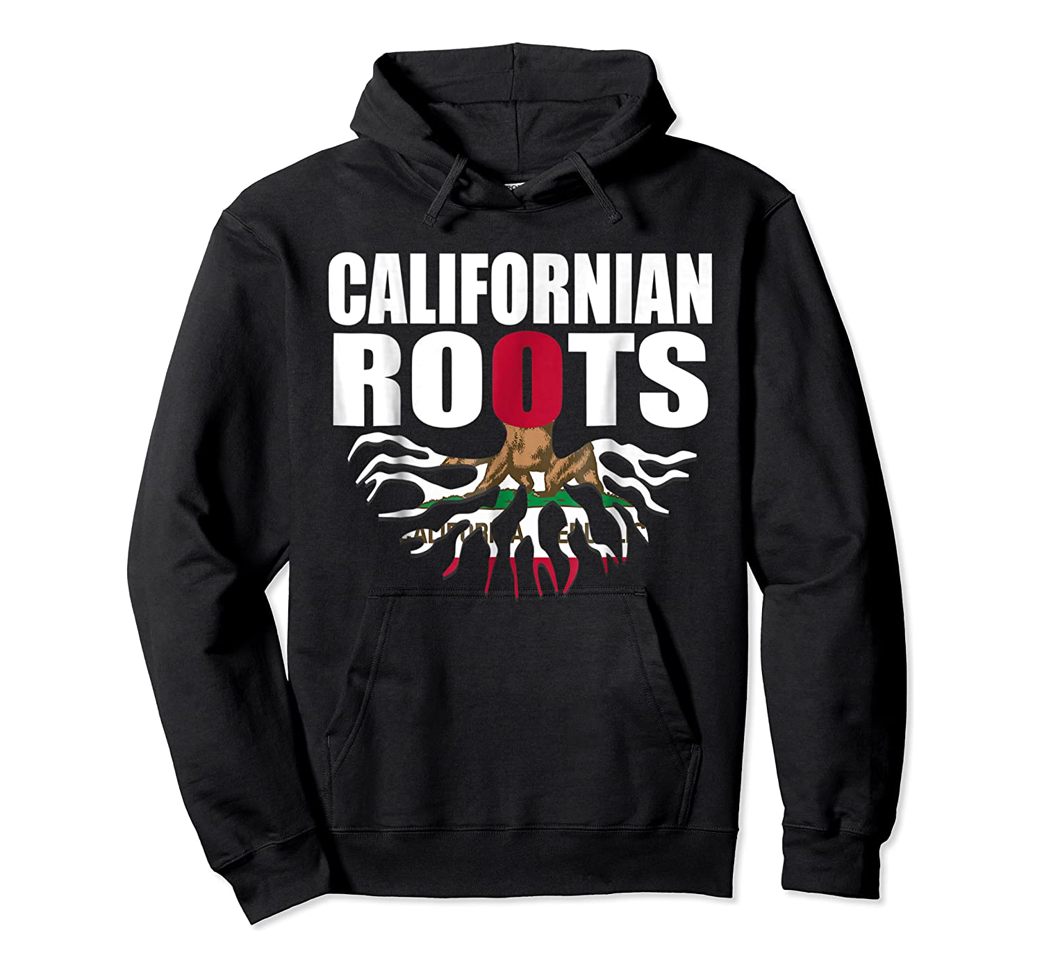 Storecastle Californian Roots California Pride Gift Shirts Unisex Pullover Hoodie