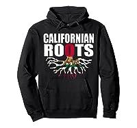 Storecastle Californian Roots California Pride Gift Shirts Hoodie Black