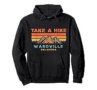 Oklahoma Vintage Take A Hike Wardville Moutain T-shirt Hoodie Black