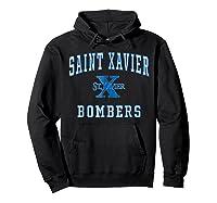 St Xavier High School Bombers C1 Shirts Hoodie Black