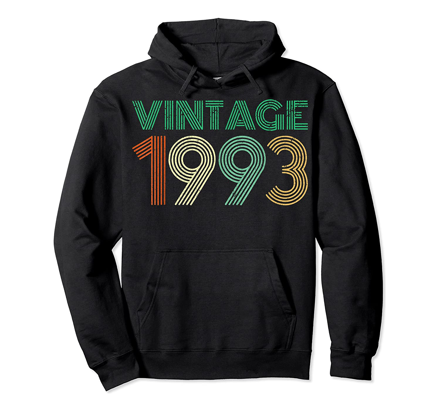26th Birthday Gift Idea Vintage 1993 T-shirt Distressed Unisex Pullover Hoodie