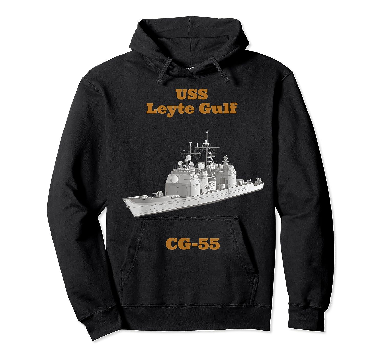 Leyte Gulf Cg 55 Navy Sailor Veteran Gift Shirts Unisex Pullover Hoodie