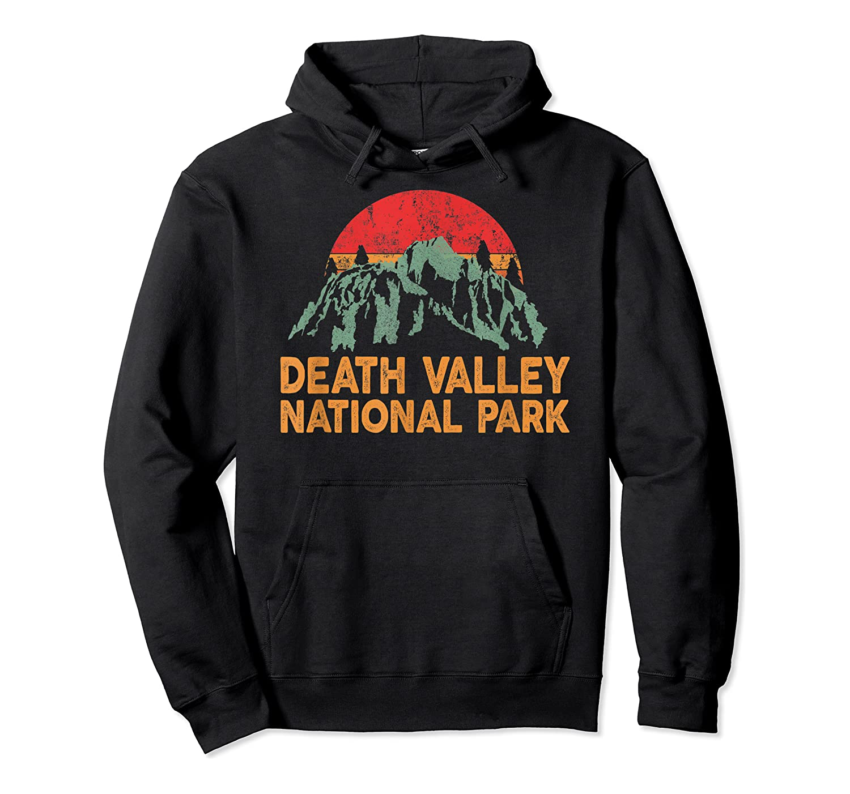 Vintage Death Valley National Park Sunset T Shirt Unisex Pullover Hoodie
