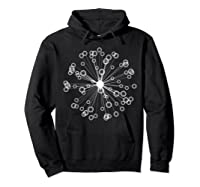 Mod Art Bursting Balls T-shirt Hoodie Black