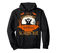 Missionary Nothing Scares Me Funny Halloween T-shirt Hoodie Black