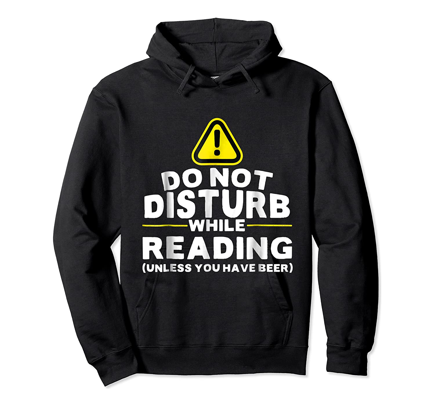 Drinking Beer Lovers Funny Book Reading T-shirt Unisex Pullover Hoodie