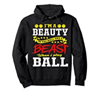 A Beauty In The Hall Funny T Shirt For Basketball Players Hoodie Black