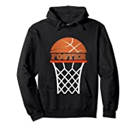 Basketball Foster Custom Name Gift, Shirts Hoodie Black