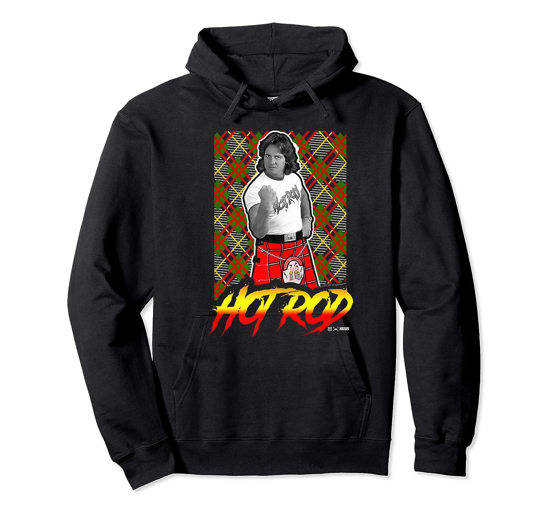 Wwe Nerds - Hot Rod Roddy Piper Neon Series Premium T-shirt Unisex Pullover Hoodie