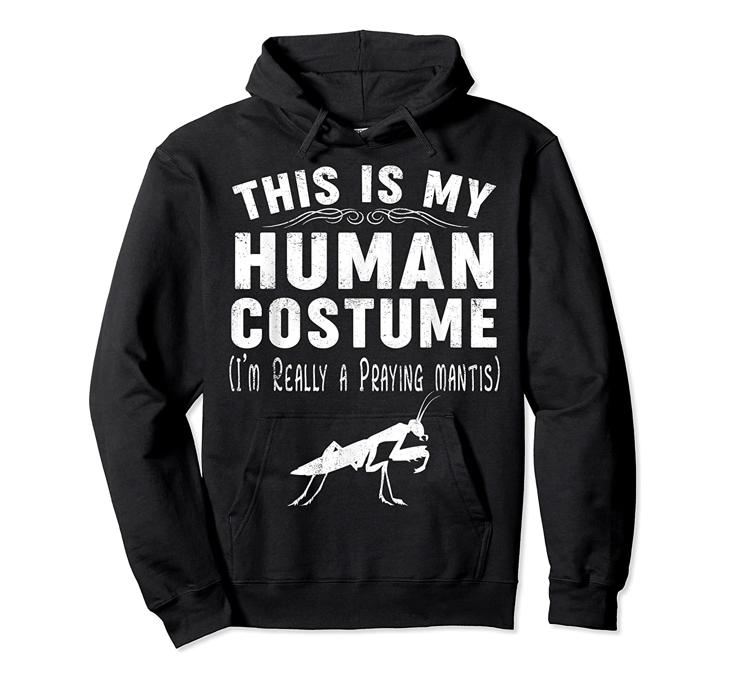 This Is My Halloween Costume I'm Realy Praying Mantis Shirts Unisex Pullover Hoodie