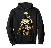Veni Vidi Vici Spqr Roman Empire Quote Shirts Hoodie Black