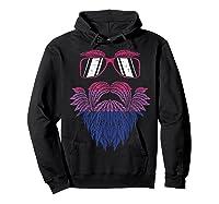 Weed Beard Funny Cannabis Lgbt Bisexual Pride Stoner Gift Shirts Hoodie Black