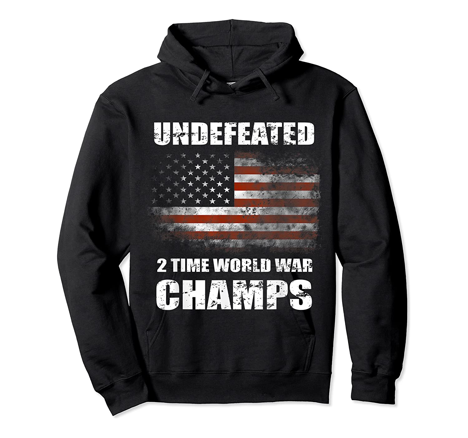 Undeted 2 Time World War T Shirt 4th Of July Shirts Gifts T-shirt Unisex Pullover Hoodie