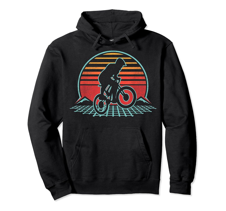Bmx Retro Vintage 80s Style Mountain Bike Rider Gift T-shirt Unisex Pullover Hoodie