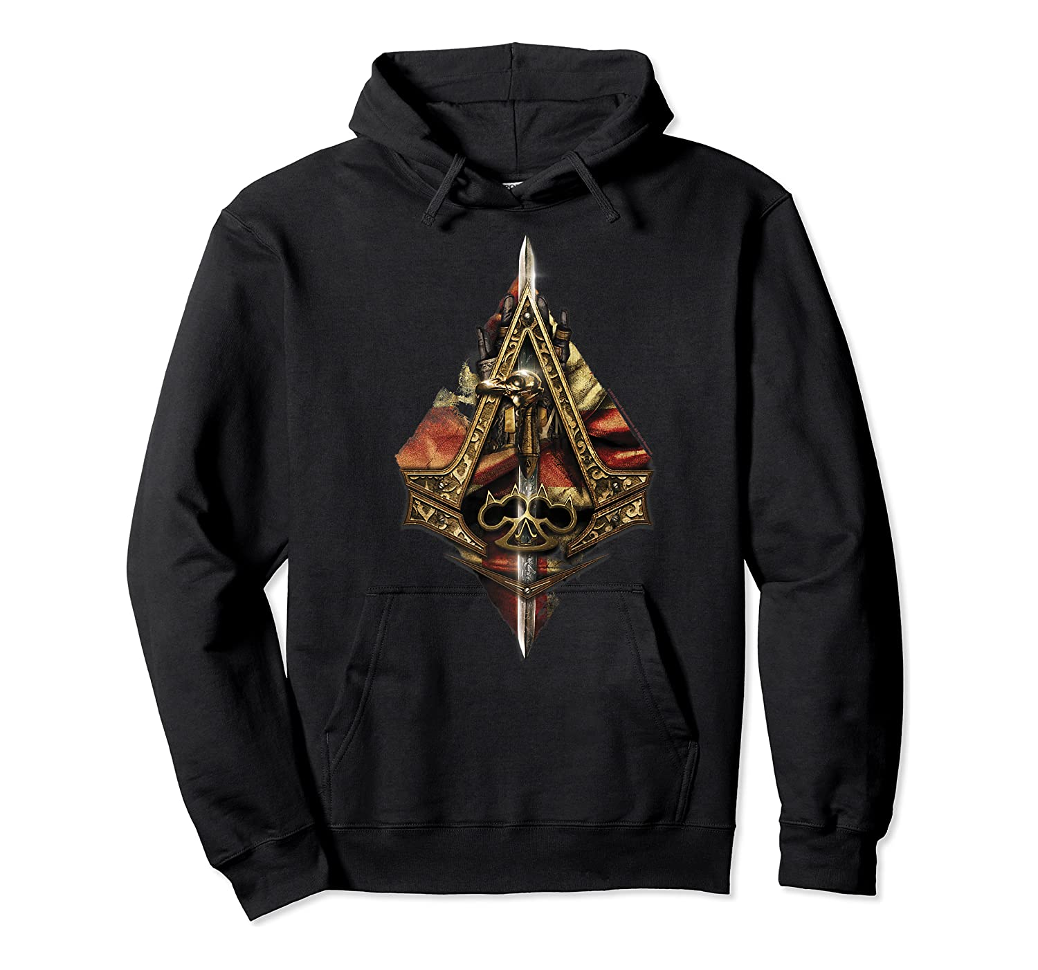 Assassin's Creed Syndicate Sword Logo Premium T-shirt Unisex Pullover Hoodie