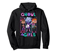 Vampirina Ghoul Girls Trio Shirts Hoodie Black