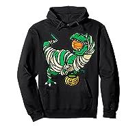 Funny Basketball Player T Rex Dinosaur Halloween Costume T-shirt Hoodie Black