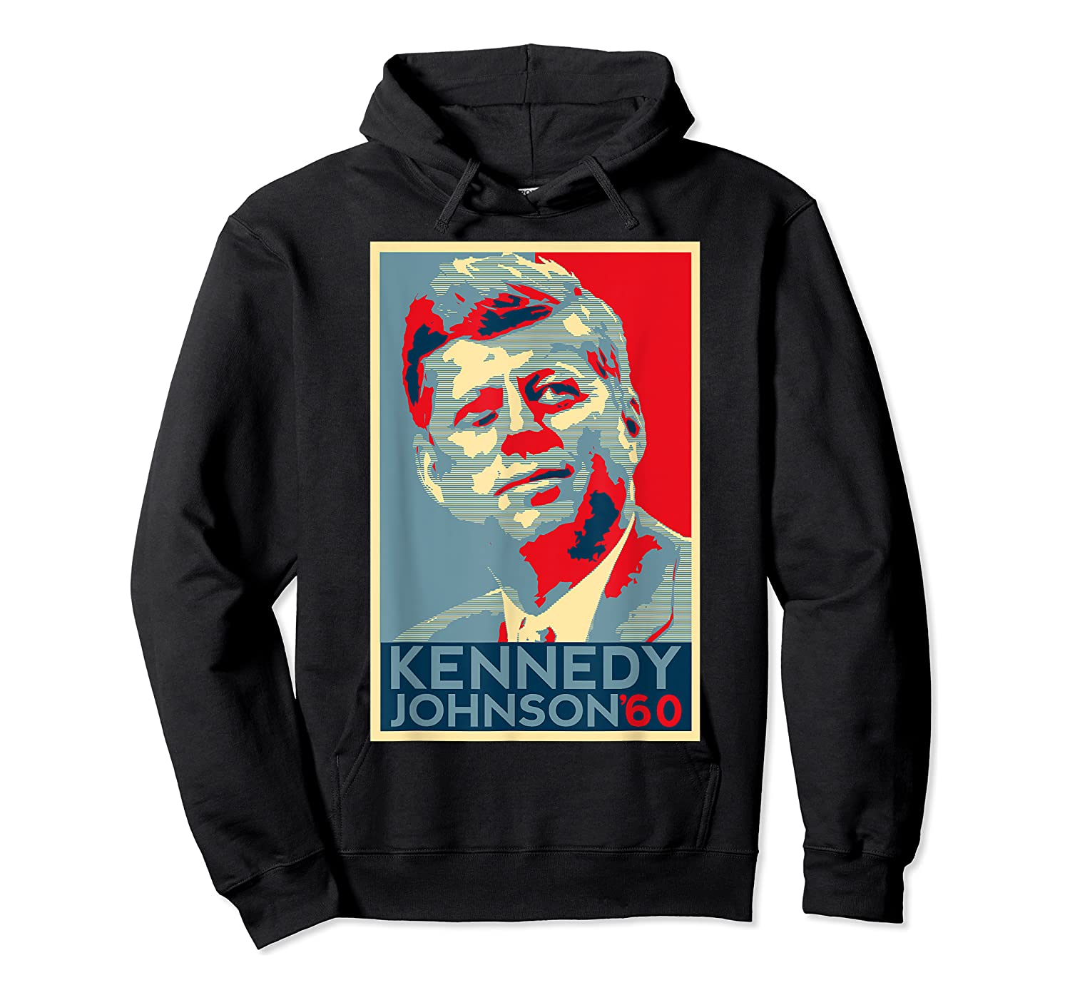 Kennedy Johnson 1960 Retro Campaign 4th Of July President Shirts Unisex Pullover Hoodie