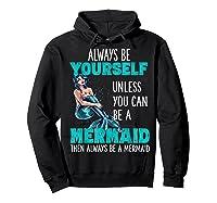 Cute Mermaid Gifts N Girls Mermaids Lover Gift Daughter Shirts Hoodie Black