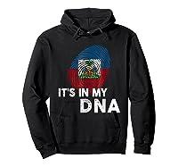 Haiti It's In My Dna Haitian Pride Shirts Hoodie Black
