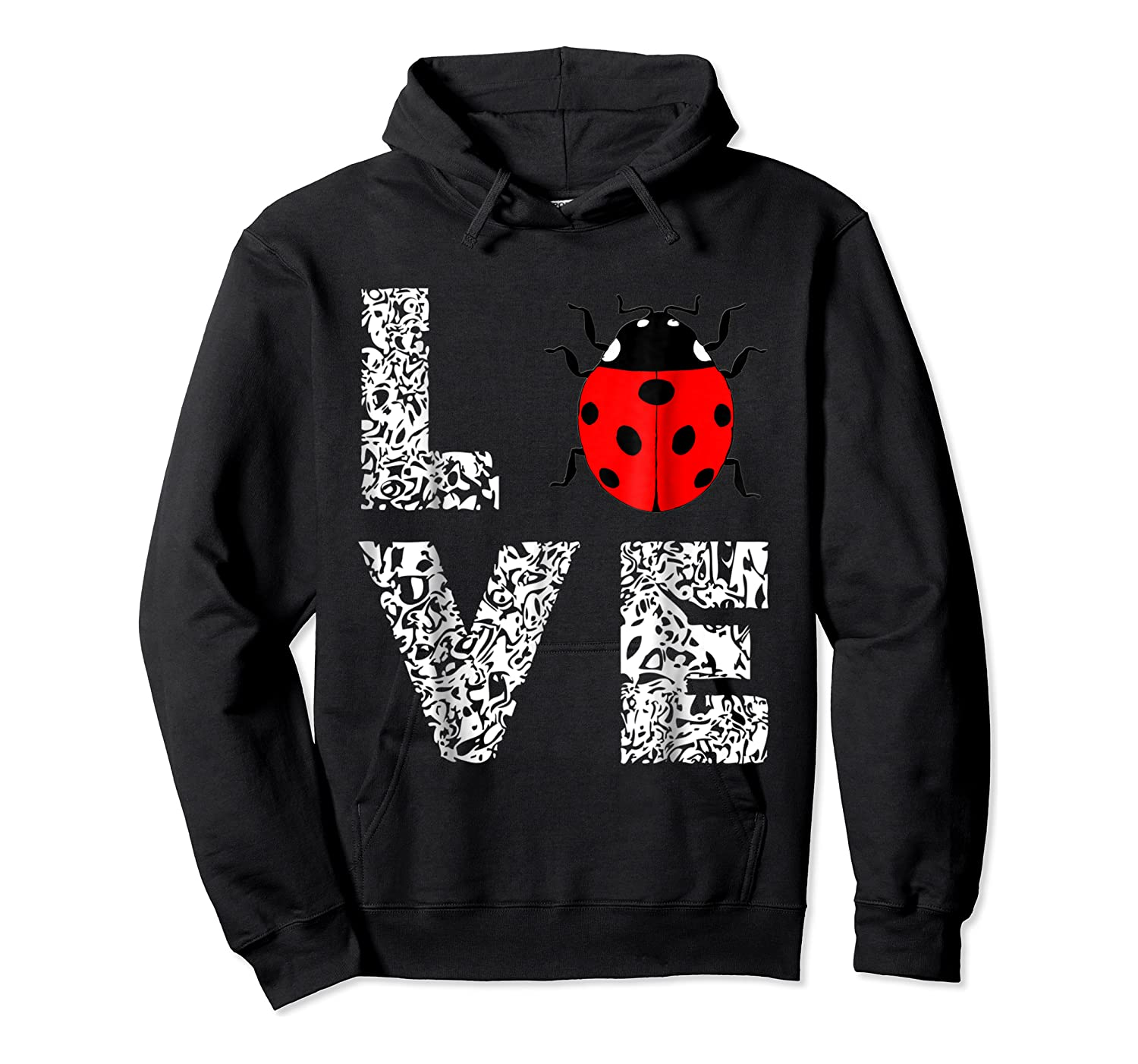 Ladybugs Love Insects Bugs Entomology Sweet T-shirts Gifts Unisex Pullover Hoodie