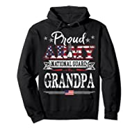 Proud Army National Guard Grandpa T-shirt U.s. Military Gift T-shirt Hoodie Black