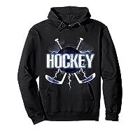 Ice Hockey Be Like Lightning For Hockey Players Shirts Hoodie Black