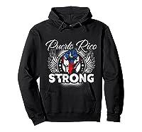 Puerto Rico Strong Flag T-shirt - Boricua Pride Love Tee Hoodie Black