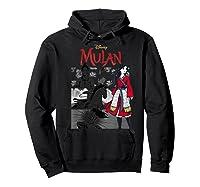 Mulan Live Action Comic Panels Shirts Hoodie Black