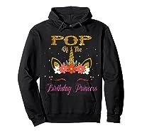 Cute Pop Of The Unicorn Birthday Princess Gift Shirts Hoodie Black