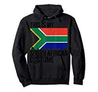 This Is My South African Flag Costume Design For Halloween Shirts Hoodie Black