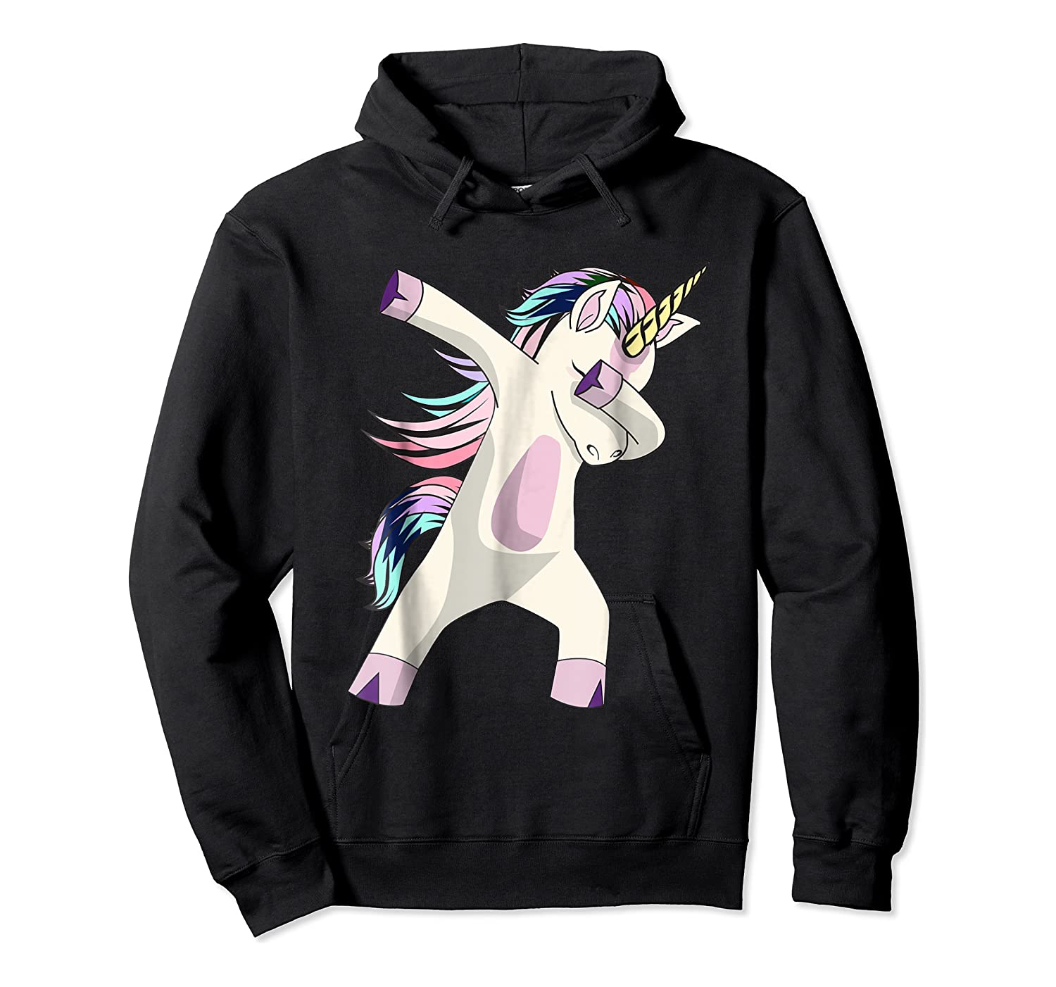 Dabbing Unicorn For Daughter Son Granddaughter Daddy Shirts Unisex Pullover Hoodie