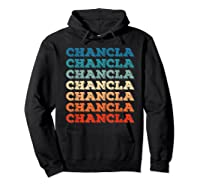 Funny Mexican Mom Gift Chancla T-shirt Hoodie Black