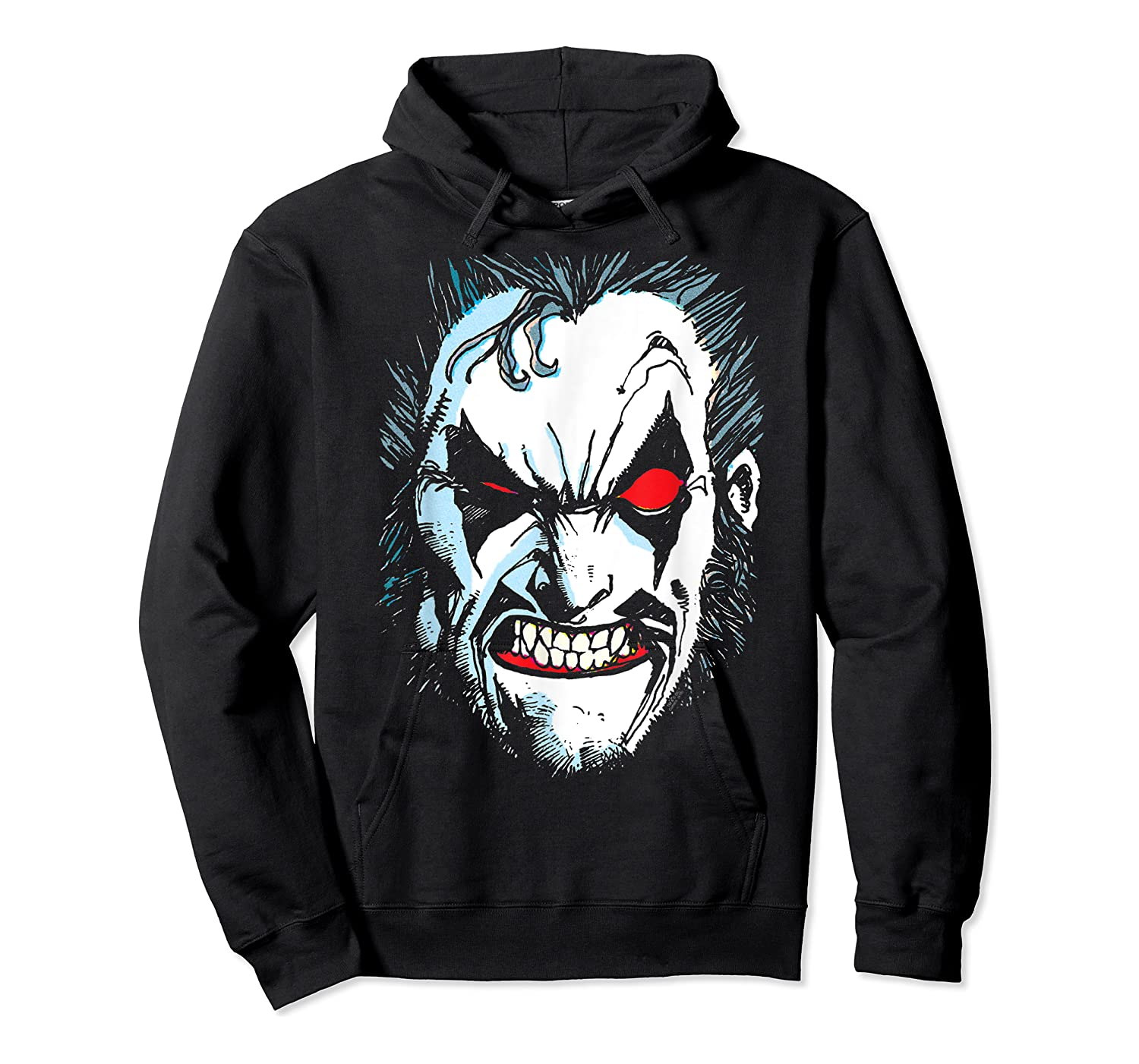 Lobo In Lo Face T-shirt Unisex Pullover Hoodie