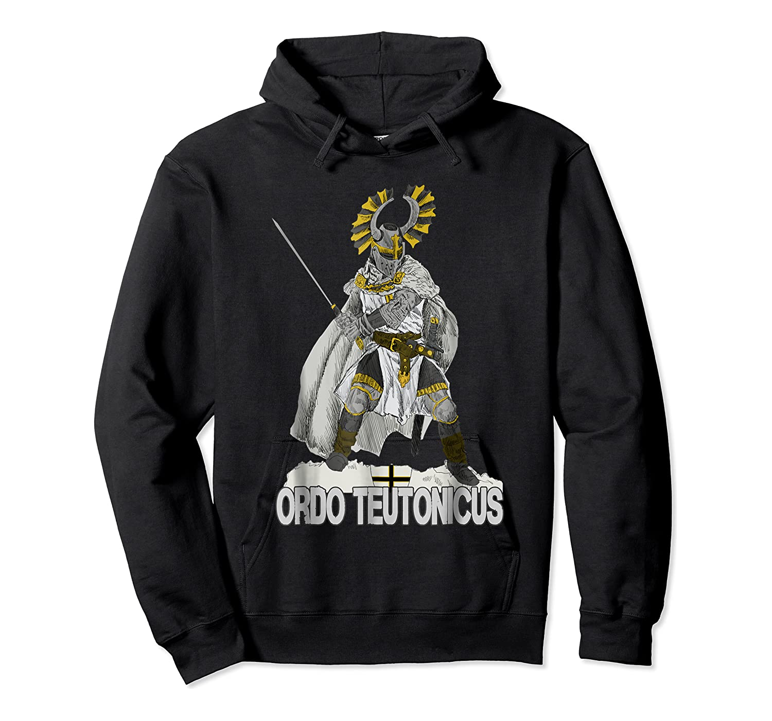 Knights Of The Teutonic Order Shirts Unisex Pullover Hoodie