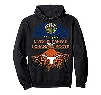 Texas Longhorns Living Roots Apparel Shirts Hoodie Black