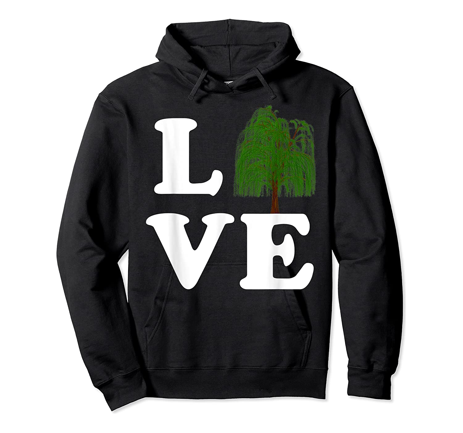 Love Trees Shirt Earth Day Weeping Willow Tee T-shirt Unisex Pullover Hoodie