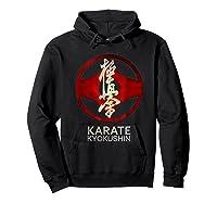 Karate Kyokushin T-shirt Hoodie Black