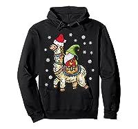 Santa Hat Christmas - Santa Gnome T-shirt Hoodie Black