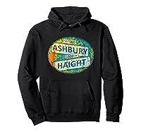 60s 70s Retro Flower Power Haight Ashbury Street Signs 1 Shirts Hoodie Black