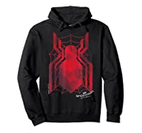 Marvel Spider-man Homecoming Grungy Ink Logo T-shirt C1 Hoodie Black