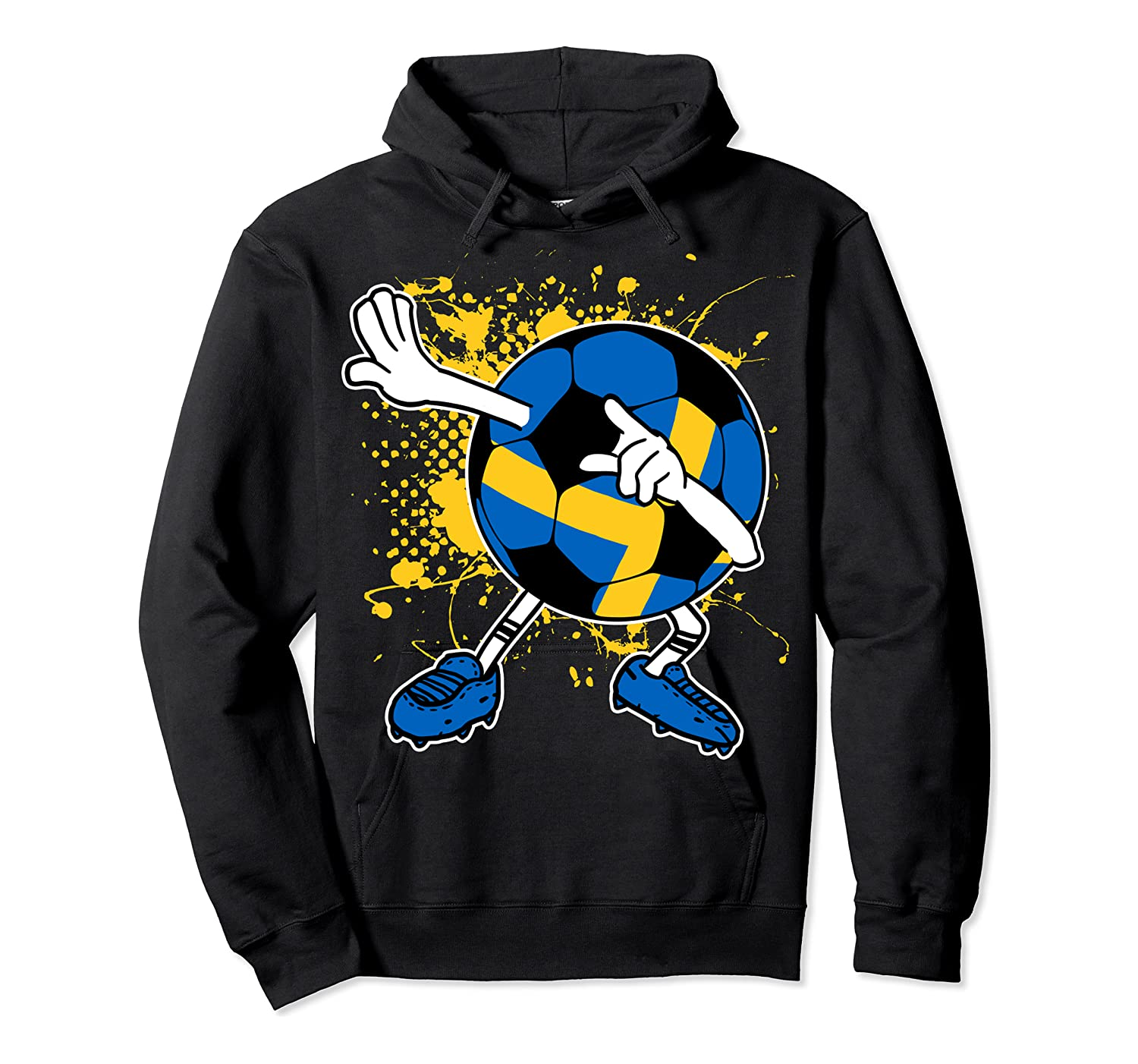 Dabbing Sweden Soccer Tshirt For Football Tee Unisex Pullover Hoodie