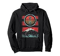 Bushido Kanji Japan Samurai Spirit Retro 80s Style Gift Shirts Hoodie Black